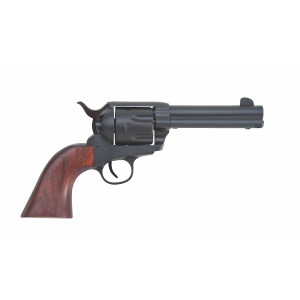 "Traditions 1873 .22 Long Rifle/.22 Winchester Magnum 10-Shot 4.75"" Revolver in Matte Black (Rawhide) - SAT73340C"