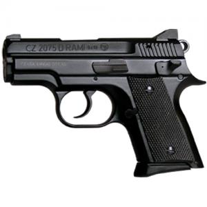 "CZ 2075 Rami BD 9mm 14+1 3.1"" Pistol in Black (Decocker) - 91754"