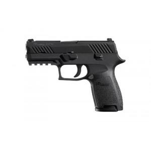 "Sig Sauer P320 Compact RX 9mm 15+1 3.9"" Pistol in Black Nitron (Romeo1/SIGLITE Night Sights) - 320C9BSSRX"