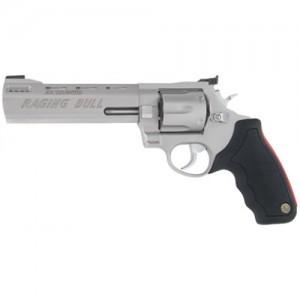 "Taurus 444 .44 Remington Magnum 6-Shot 6.5"" Revolver in Stainless (Raging Bull) - 2444069"