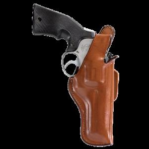 "Bianchi 10309 5 Thumbsnap 4"" Barrel Colt Anaconda; S&W Leather Tan - 10309"
