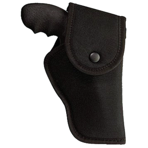 """Uncle Mike's Sidekick Left-Hand Belt Holster for Smith & Wesson X-Frame in Black (4"""" - 5"""") - 81532"""