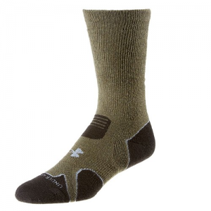 UA Hitch Heavy Cushion Boot Socks Color: Sage/Grey Size: Large
