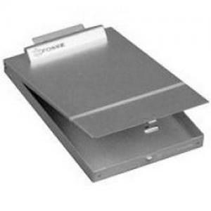 Bottom Open Clipboard box - 9 x14 x1   Color: Silver