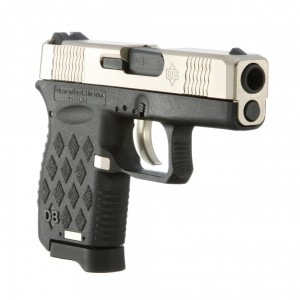 "Diamondback DB9N Micro-Compact 9mm 6+1 3"" Pistol in Nickel - DB9N"