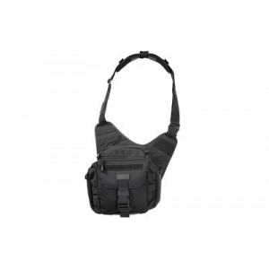5.11 Tactical Push Pack Waterproof Sling Backpack in Black - 56037
