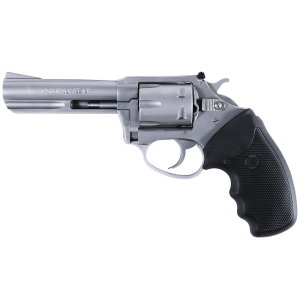 """Charter Arms Target Pathfinder Combo .22 Long Rifle/.22 Winchester Magnum 6-Shot 4"""" Revolver in Stainless - 62240"""