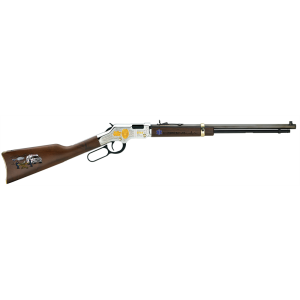 """Henry Repeating Arms Golden Boy EMS Tribute Edition .22 Long Rifle 21-Round 20"""" Lever Action Rifle in Blued - H004EMS"""