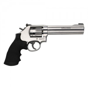 "Smith & Wesson 617 .22 Long Rifle 10-Shot 6"" Revolver in Satin Stainless (K-22 Masterpiece) - 160578"