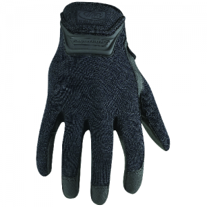 DUTY GLOVE LARGE  Patented SuperCuff design provides a super comfortable, snug and secure fit without restricting wrist and hand movement. Tough spandex top resists snagging, yet remains lightweight and flexible. Ultra-sensitive fingertip design for encha