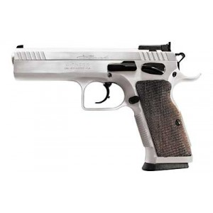 "EAA Witness 9mm 17+1 4.5"" Pistol in Chrome (Elite) - 600605"