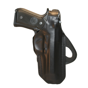 Blackhawk Angle-Adjustable Right-Hand Paddle Holster for Walther P99 in Black - 420616BKR