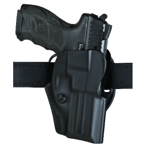 Range Series Open Top Low Ride Holster Color: Black Finish: STX Plain Gun Fit: Glock 20, 21 (4.6  BBL) Hand: Right - 5195-383-411