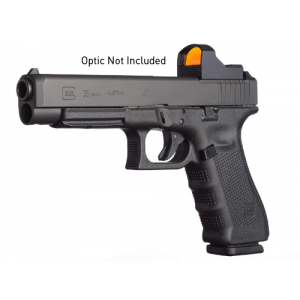 """Glock 35 .40 S&W 15+1 5.32"""" Pistol in Gas Nitride (Gen 4 MOS) - PG3530103MOS"""