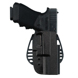Uncle Mikes 5418-1 Kydex Paddle Holster Sz 18 Black Kydex - 54181