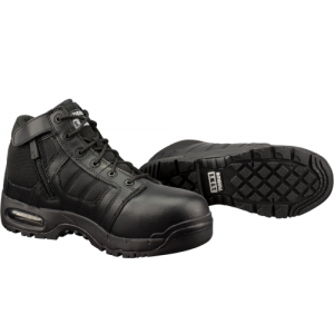AIR 5  COMPOSITE SIDE ZIP BLK  AIR 5INCH SAFETY TOE SIDE ZIP SIZE 9.5 BLACK