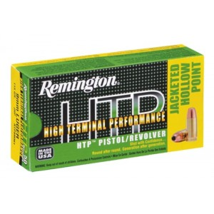 Remington High Terminal Performance .380 ACP High Terminal Performance Jacketed Hollow Point, 88 Grain (50 Rounds) - RTP380A1