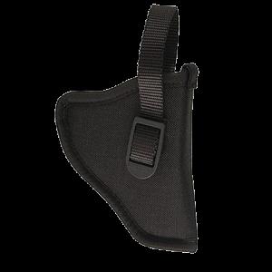 "Uncle Mike's Sidekick Left-Hand Belt Holster for Small 5-Shot Revolvers in Black (2"" - 3"") - 81362"