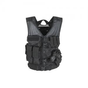MSP-06 Entry Assault Vest Color: Black Size: 3XL/5XL (fits chest size 52 -61 )