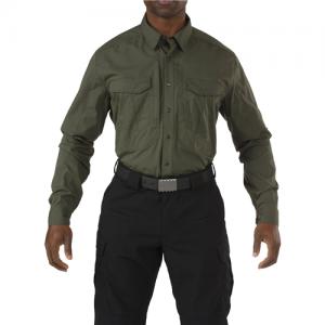 Stryke Shirt - Long Sleeve Color: TDU Green Size: Large Height: Regular
