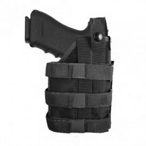 Uncle Mike's Universal LE Right-Hand Belt Holster for Most Handguns in Black - 7702001
