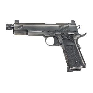 """Dan Wesson Wraith 9mm 10+1 5.75"""" 1911 in Distressed Stainless Steel (Suppressor Ready) - 01849"""