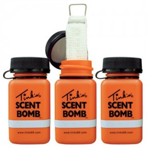 Tinks Scent Bombs Works w/All Cover Scents & Lures W5841