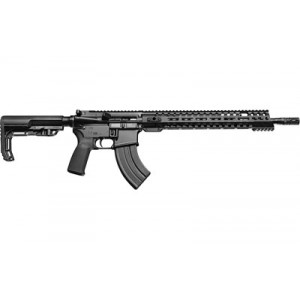 """Patriot Ordnance Factory Renegade, Semi-automatic Rifle, 7.62x39, 16.5"""" Puritan Barrel With Mid-length Dictator, 1:8 Twist, Black Finish, Mission First Tactical Grip And Stock, 28rd, Mlok Renegade Rail, A2 Flash Hider, Milspec Trigger 01184"""