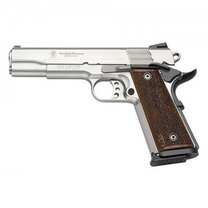 """Smith & Wesson 1911 9mm 10+1 5"""" 1911 in Matte Silver (Pro) - 178017"""