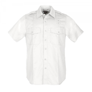 5.11 Tactical PDU Class A Men's Uniform Shirt in White - 2X-Large