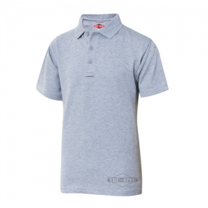 Tru Spec 24-7 Men's Short Sleeve Polo in Heather Grey - Medium