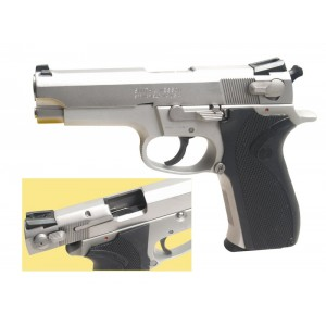 "Pre-Owned Smith & Wesson - Imported by LSY Defense 5903 9mm 11+1 3.5"" Pistol in Stainless - SW5903-BC-PO"