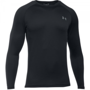 Under Armour Base 3.0 Men's Long Sleeve Shirt in Black - 2X-Large