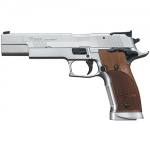 "Sig Sauer P226 X-Five Full Size Level 1 9mm 19+1 5"" Pistol in Stainless (Nill Wood Grip) - 226X59L1"