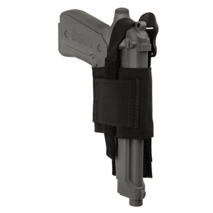 Blackhawk Belt Right-Hand Belt Holster for Most Handguns in Black - 40HB00BK