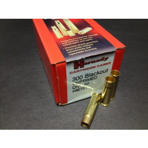Hornady Brass 300 AAC Blackout Unprimed Cartridge Cases 50 Cases per Box - NEW LOWER PRICE  86751