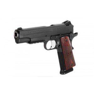 """Sig Sauer 1911 Full Size .45 ACP 8+1 5"""" 1911 in Black Nitron (Rosewood Grip) - 1911R45BSSCA"""