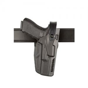 """Safariland 7280 Mid Ride Left-Hand Belt Holster for Glock 17 in STX Plain (4.5"""") - 7280-83-412"""