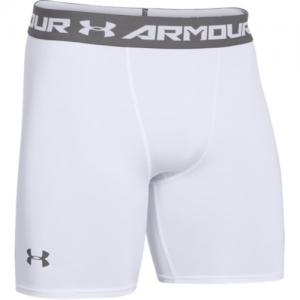 Under Armour Armour Heatgear Men's Underwear in White/Graphite - Medium