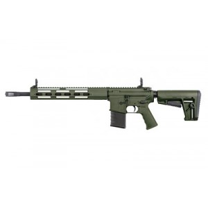 "Kriss Usa, Inc Dmk22, Semi-automatic, Ar, 22lr, 16.5"", Od Green, 6 Position, 1 Mag, Threaded, 15rd, Flip Up Front And Rear Dm22-cgrl00"