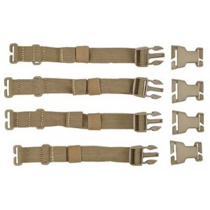 5.11 Tactical RUSH TIER System SANDSTONE 4 Piece Strap System for RUSH and MOAB Series Storage Units 56957