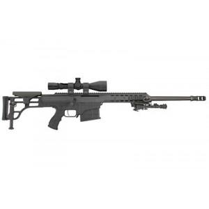 "Barrett Firearms M98B .338 Lapua Magnum 10-Round 20"" Bolt Action Rifle in Black - 14057"