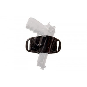"""Tagua Bh2 Quick Draw Belt Holster, Fits Colt Govt 5"""", Right Hand, Black Bh2-200 - BH2-200"""