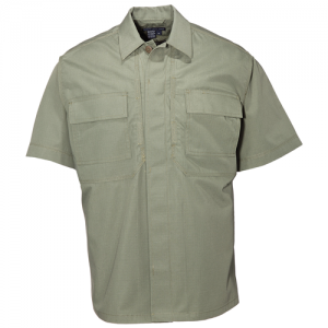 5.11 Tactical TDU Men's Uniform Shirt in TDU Green - X-Large