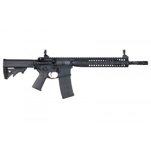 "Lwrc Ic Spr, Semi-automatic, Ar, 223 Rem/556nato, 16"" Hammer Forged Barrel, Black Finish, Lwrci Adjustable Compact Stock, Magpul Moe+ Grip, Ambidextrous, 10rd, Gas Piston, California Compliant Icr5b16sprcac"