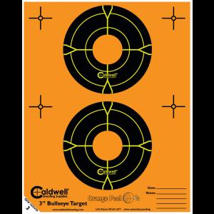 """Caldwell 391984 Orange Peel Targets 3"""" Bullseye 15 Pack"""