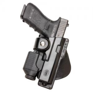 Fobus USA Belt Right-Hand Belt Holster for Glock 17 in Black - GLT17RB214