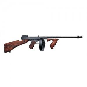 "Auto Ordinance Thompson 1927 A1 Deluxe .45 ACP 50-Round 16.5"" Semi-Automatic Rifle in Black - T150D"