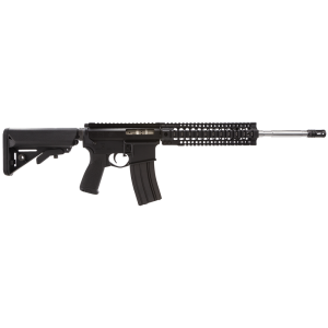 "2 Vets 2VA556 SOPMOD .223 Remington/5.56 NATO 30-Round 16"" Semi-Automatic Rifle in Black - 2VA556SOPMOD"