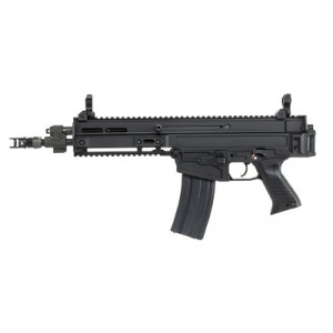 "CZ 805 Bren S1 .223 Remington/5.56 NATO 30+1 11"" Pistol in Black Aluminum (Threaded) - 91361"
